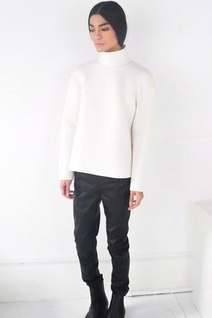 chelsea boots asos boots - neoprene Front Row Shop sweatshirt