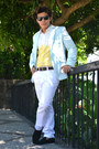 Salvatore-mann-shoes-main-street-blazer-sprinto-sunglasses-diy-top
