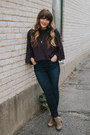 Blue-joes-jeans-jeans-deep-purple-nordstrom-top-tan-hush-puppies-heels