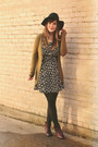 Purple-wolverine-1000-mile-boots-black-modcloth-dress-black-moorea-seal-hat