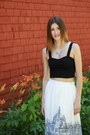 Lulus-skirt-brandy-melville-top-jewelmint-necklace-joe-fresh-sandals