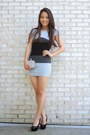 Heather-gray-ombre-bandage-spicy-avenue-dress