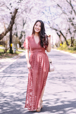 coral Socialyte dress