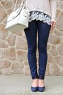 Navy-skinny-articles-of-society-jeans-tan-charlotte-russe-sweater