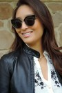 Black-saffiano-prada-bag-black-cateye-sunglass-spot-sunglasses