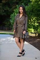 light brown tencel Aeropostale jacket - light brown Velvet Heart dress
