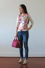 Blue-bongo-jeans-hot-pink-givenchy-bag