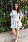 Light-blue-stitch-fix-dress-eggshell-chloe-bag