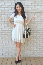 OASAP dress - classic bvlgari bag - Cole Haan sunglasses