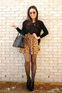 Black-cutout-ankle-deb-boots-black-heart-printed-persunmall-tights