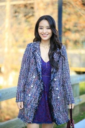 deep purple Undeniable Boutique dress