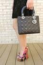 Black-forever-21-dress-hot-pink-reese-riley-blazer