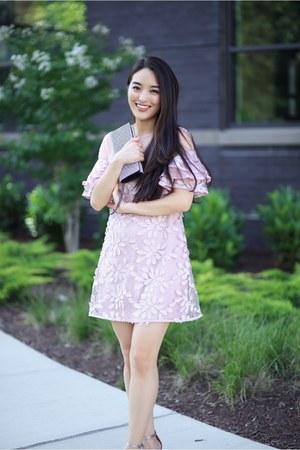 light pink embellished Dolly Delicious dress