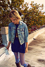 Frye-boots-levis-jacket-blue-nylon-look-from-london-tights