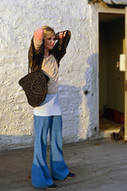 crochet David & Scotti bag - high-waisted vintage jeans