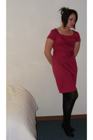 hot pink H&M dress