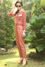 Tawny-gold-heels-zara-pumps-coral-leather-collar-no-brand-shirt