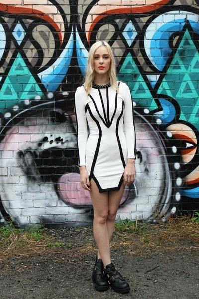 long sleeve dragonberry dress
