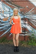 carrot orange dress dragonberry dress