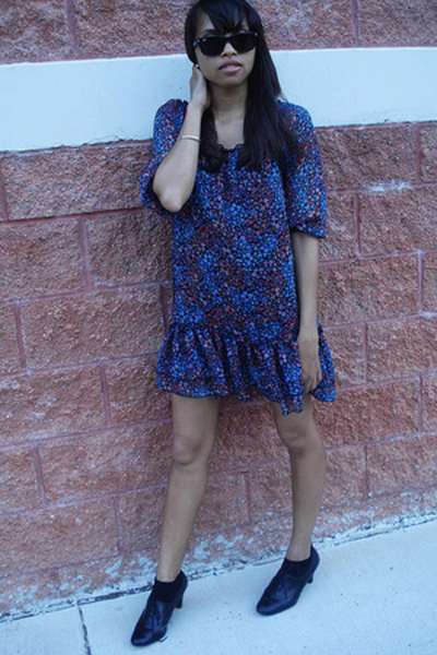 H&amp;M dress - payless shoes - f21 sunglasses