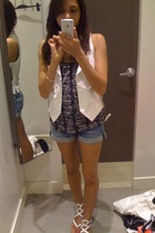 H&M vest - H&M top - H&M shorts - Target shoes