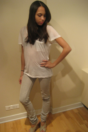 balenciaga top - urbn jeans - f21 shoes