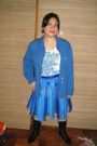 Blue-la-pagayo-jacket-white-gap-top-blue-gift-from-a-friend-skirt-black-ni