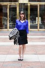 Blue-amour-vert-top-black-j-crew-skirt-black-leather-pumps-corso-como-pumps