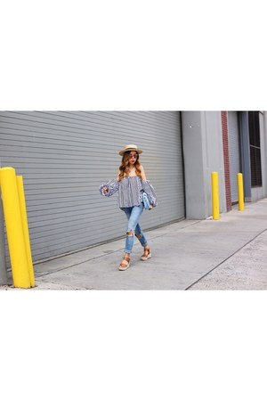 hat hat - Jeans jeans - on sale Bag bag - 50 sunglasses sunglasses