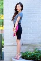 Tee t-shirt - Skirt skirt - necklace accessories