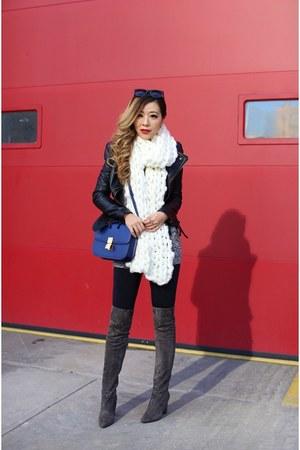 on sale scarf scarf - OTK Boots boots - Jacket jacket - Bag bag