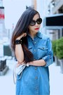 Denim-shirt-dress-dress