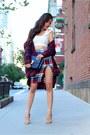 Skirt-shirt-shirt-shirt-bag-bag-shoes-heels-top-top