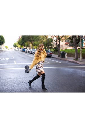 on sale for 25 Sweater sweater - OTK Boots boots - Bag bag - sunnies sunglasses