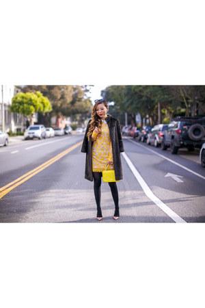 Bag bag - Dress dress - heels heels - Earrings earrings