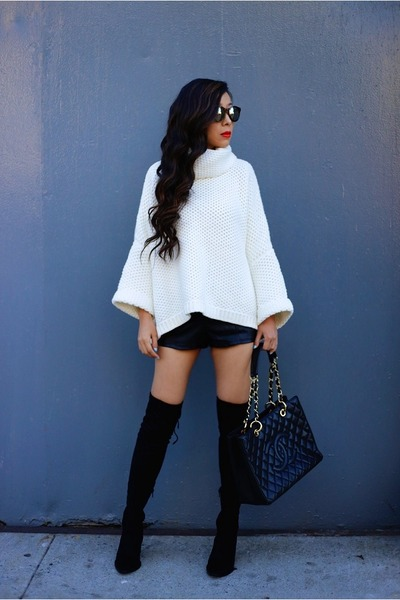 Sweater sweater - boots boots - sunnies sunglasses - Slipon sneakers