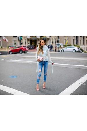 Bag bag - on sale Jeans jeans - Earrings earrings - heels heels