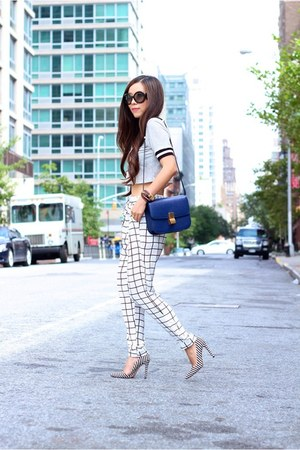 Watch watch - sunglasses sunglasses - pants pants - heels heels - Top top