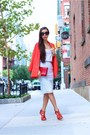 Blazer-blazer-clutch-bag-sunglasses-sunglasses-cami-top-heels-heels