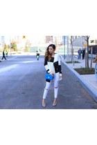 coat coat - Jeans jeans - Bag bag - heels heels