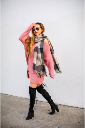 only 20 Sweater sweater - less than 100 OTK Boots boots - only 15 scarf scarf