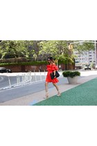 Bag bag - Dress dress - only 50 sunglasses sunglasses - sandals sandals