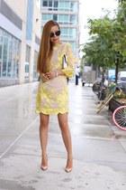 Bag bag - Dress dress - sunglasses sunglasses - heels heels