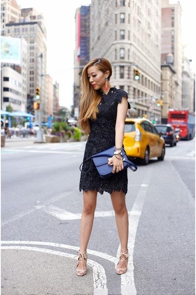 Dress-dress-bag-bag-shoes-wedges-earrings-earrings