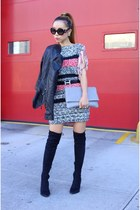 Jacket jacket - boots boots - only 65 Dress dress - Bag bag