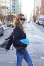 Jeans-jeans-jacket-jacket-sweater-sweater-bag-bag-sunglasses-sunglasses