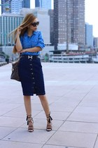 Bag bag - shirt shirt - sunglasses sunglasses - Skirt skirt