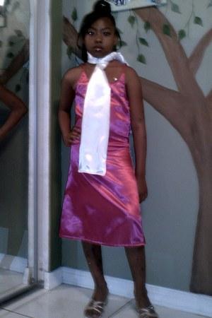 party dress pink dress