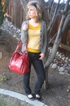 Seven For All Mankind jeans - forever 21 sweater - BP shoes