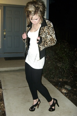 Guess coat - Steve Madden shoes - Betsey Johnson necklace